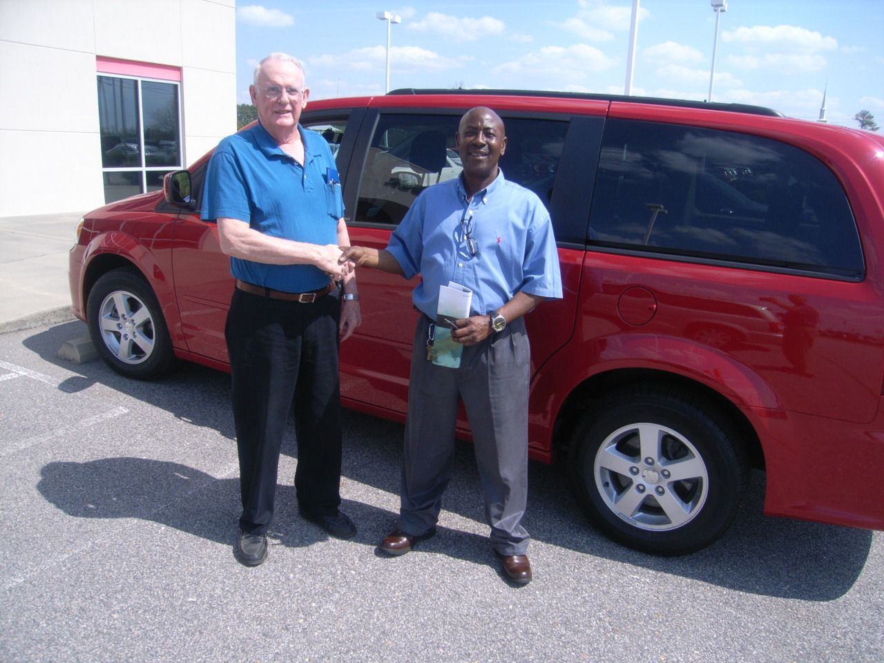 John from Nashville NC compared deals and found this 2013 Dodge Grand Caravan from Cox Dodge to be the perfect fit. Thank you John for your business. His salesman is Anthony Lawrence