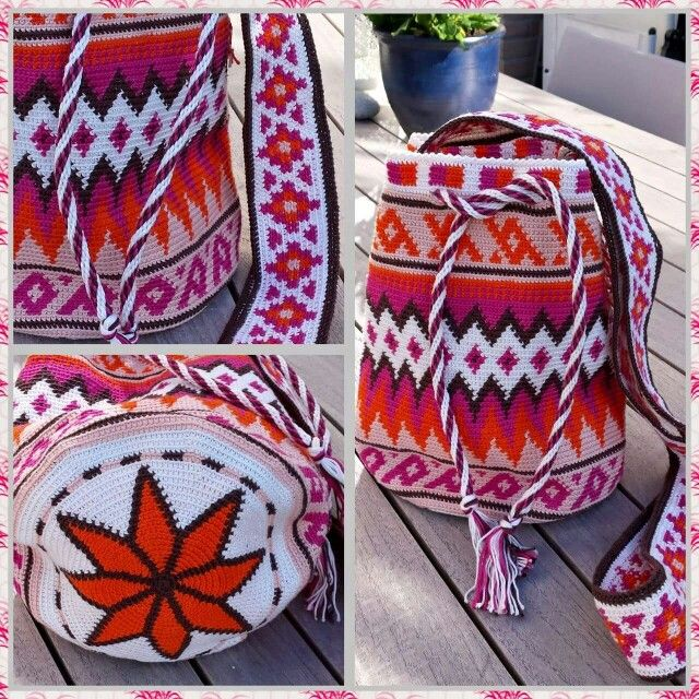 mooie warme kleuren!! | Tığ işleri, Desenler, Boncuk