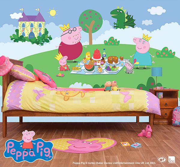 Wall Mural peppa pig My Kaylee sure does love her some Olivia