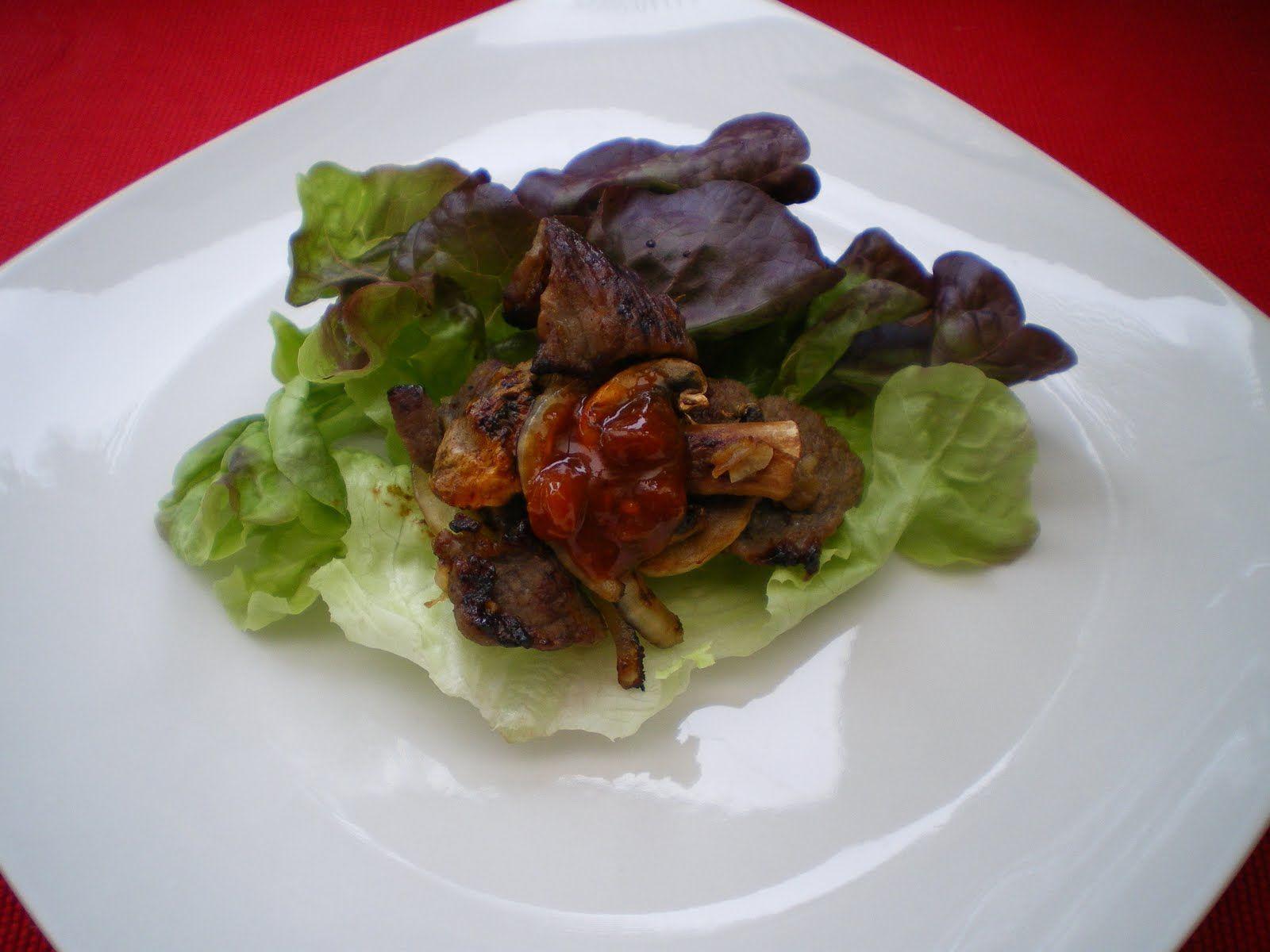 Shelly's Kitchen: Korean Bulgogi Lettuce Wraps