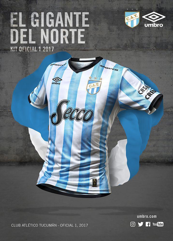 Camisas do Club Atlético Tucumán 2017-2018 Umbro  e9a242d6288f2