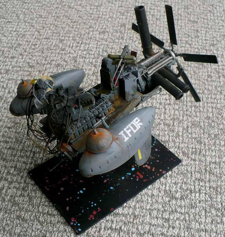 Scratch \'n\' bash 1/32 scale Post Apocalyptic Catamaran. | spaceships ...