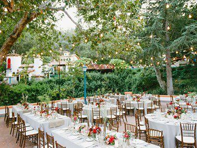 Rancho Las Lomas Garden Wedding Venue Orange County Location 92676