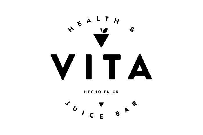 Vita Health Juice Bar On Behance Juice Bar Juicing For Health Cafe Branding