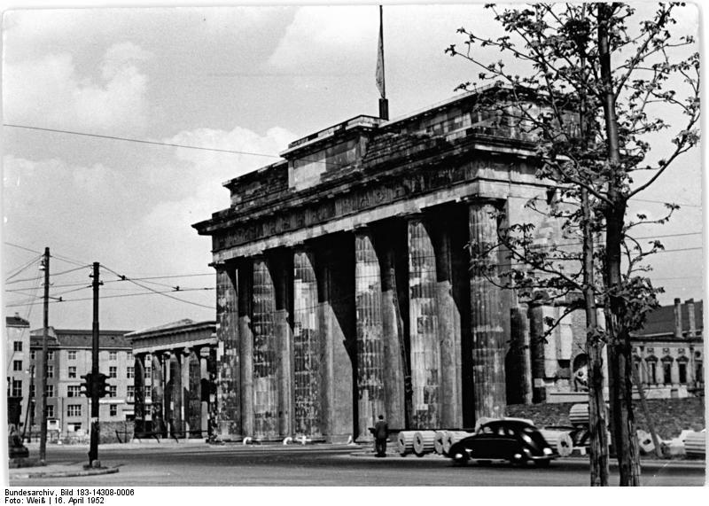 1952 Brandenburger Tor