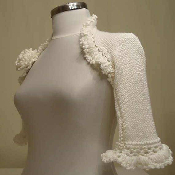 knit something like this - a cape?