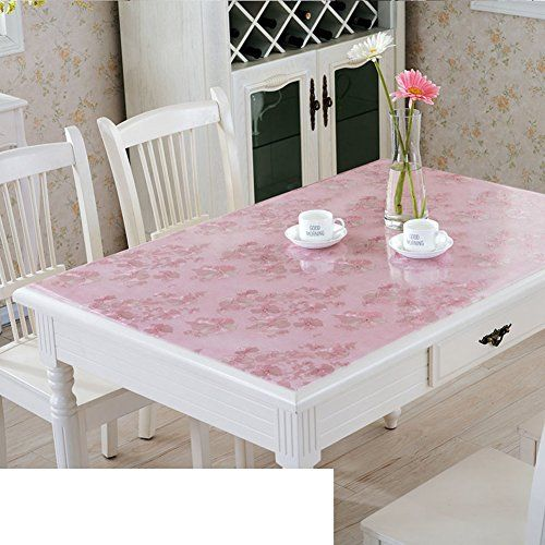 Pvc Table Mat Disposable Table Cloth Waterproof Burn Proof Soft Glass Plastic Table Cloth Frosted Crystal Plate B 6 Coffee Table Cloth Table Durable Table