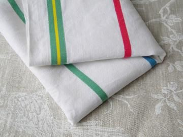 vintage french dish towel ONE dish cloth by hopeandvanilla for $14.00 #zibbet