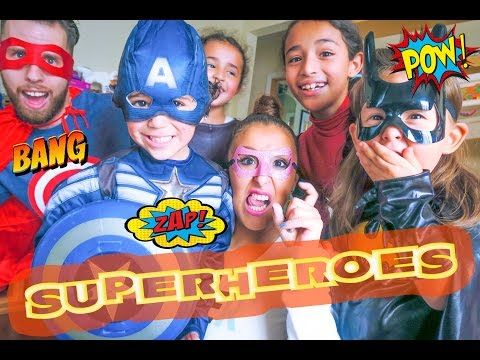 SUPERHEROES! (12.13.15 - DAY 727) DAILY VLOG - YouTube