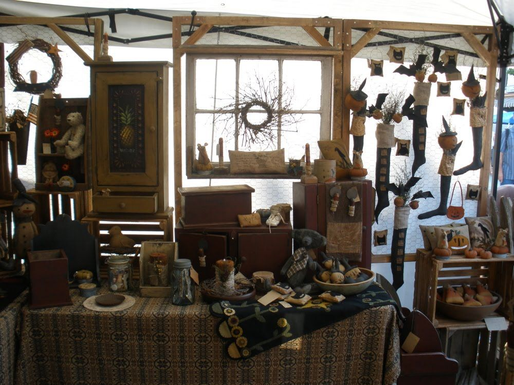 Christmas Craft Show Booth Ideas Part - 45: Teresau0027s Primitive Treasures: Shippensburg Corn Festival Craft Show .