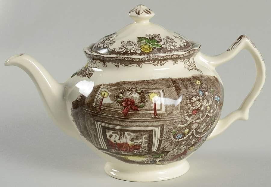 Vintage Johnson Bros Teapot