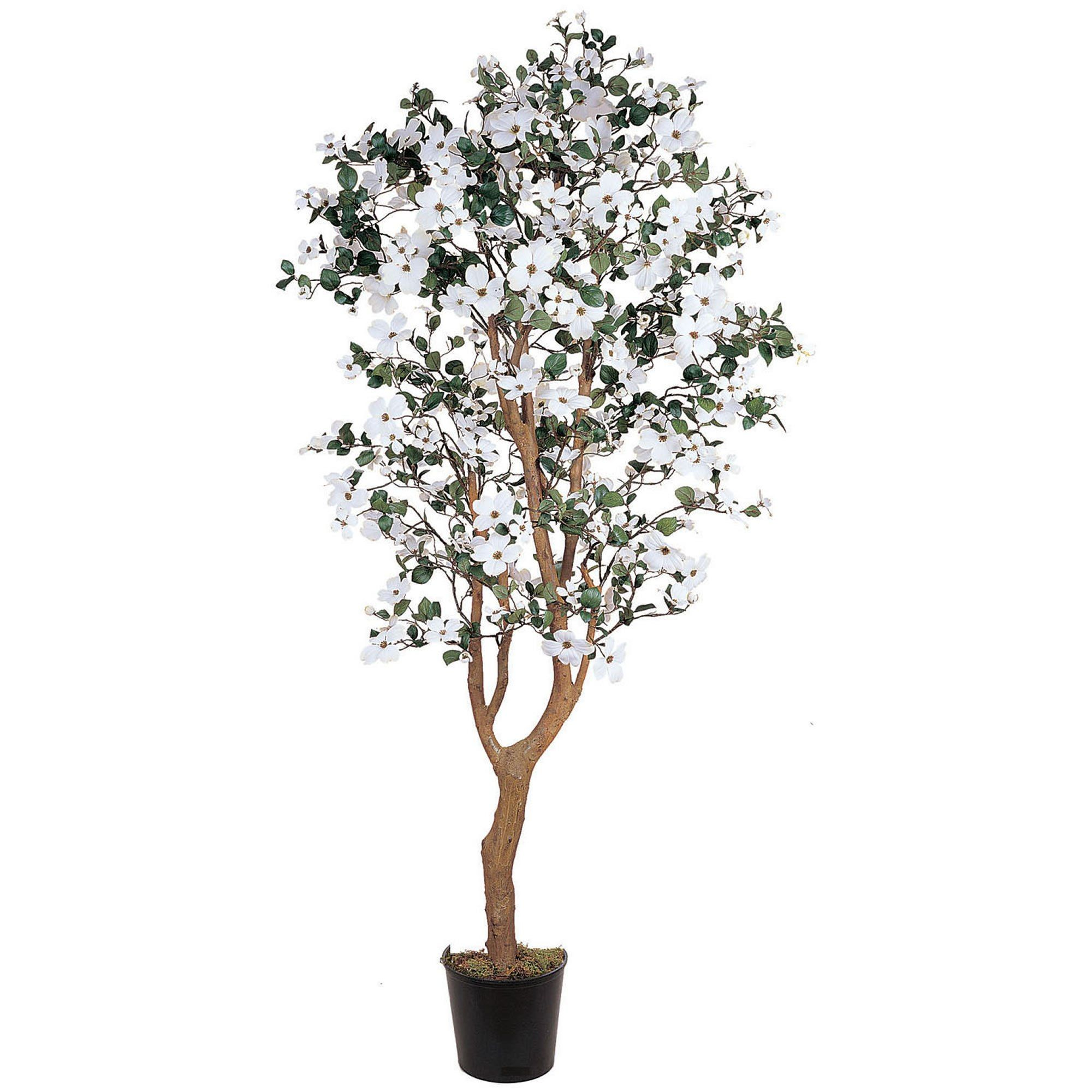 5 H Dogwood Silk Tree  Faux Trees N Shrubs