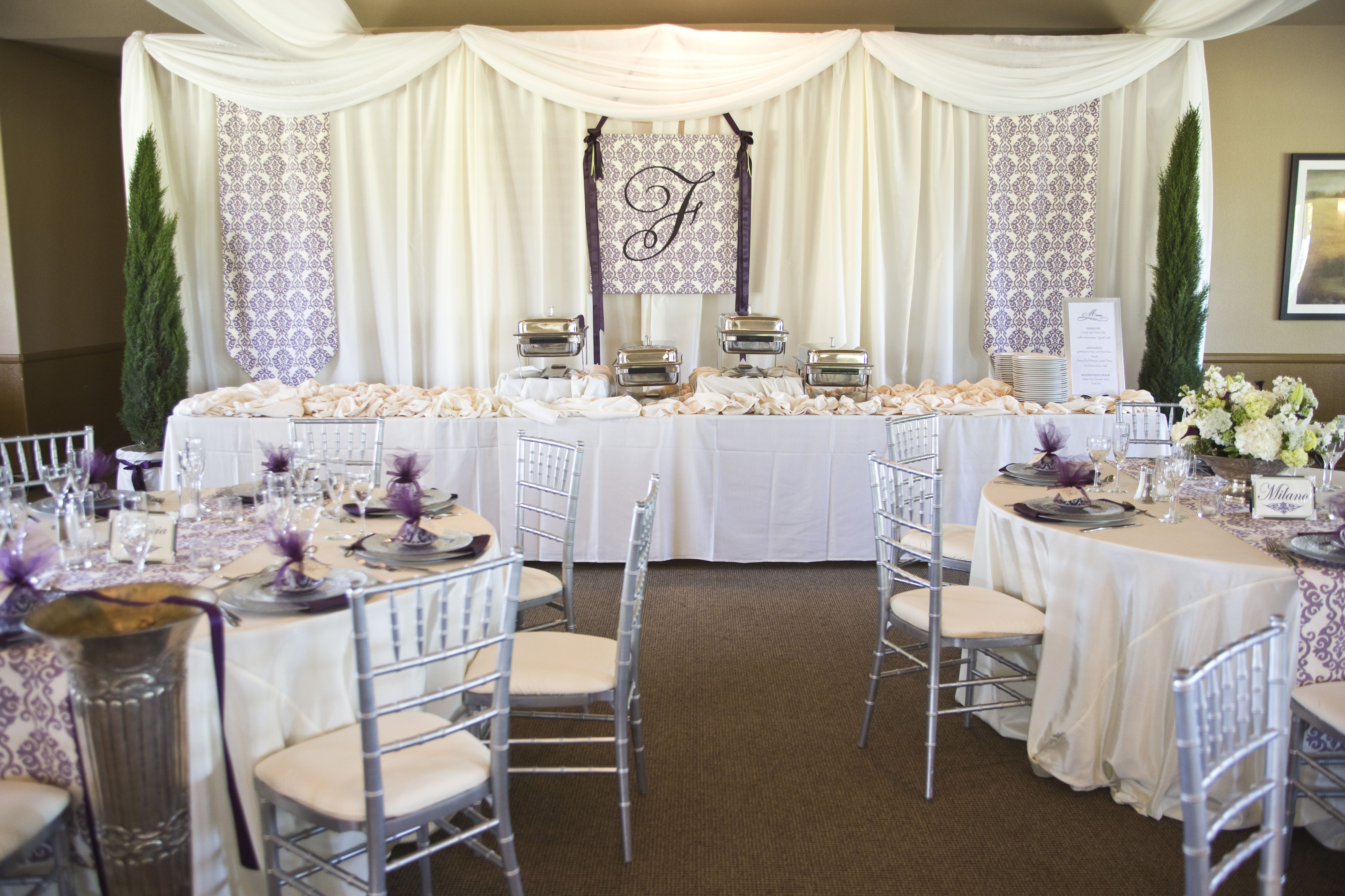 The reserve at spanos park country club receptions for Wedding venues stockton ca