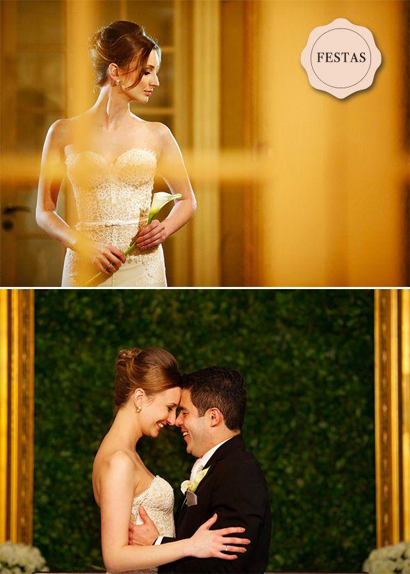 Casamento Clássico no Castelo do Batel, Curitiba, Brasil por Fer Cesar Fotografia - Classic Wedding - www.lapartiediva.com.br