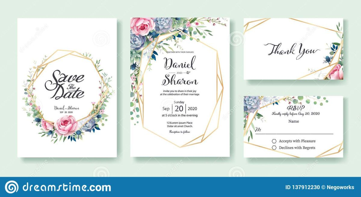 Wedding Invitation Save The Date Thank You Rsvp Card Within Template For Rsvp Cards For Weddin Rsvp Wedding Cards Free Wedding Printables Wedding Printables