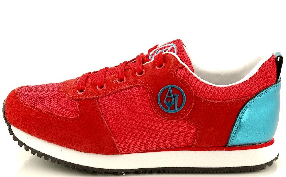 Http Zebra Buty Pl Model 5210 Damskie Buty Sportowe Armani Jeans A55b6 23 4l Red 2051 081 Armani Armani Jeans Sketchers Sneakers