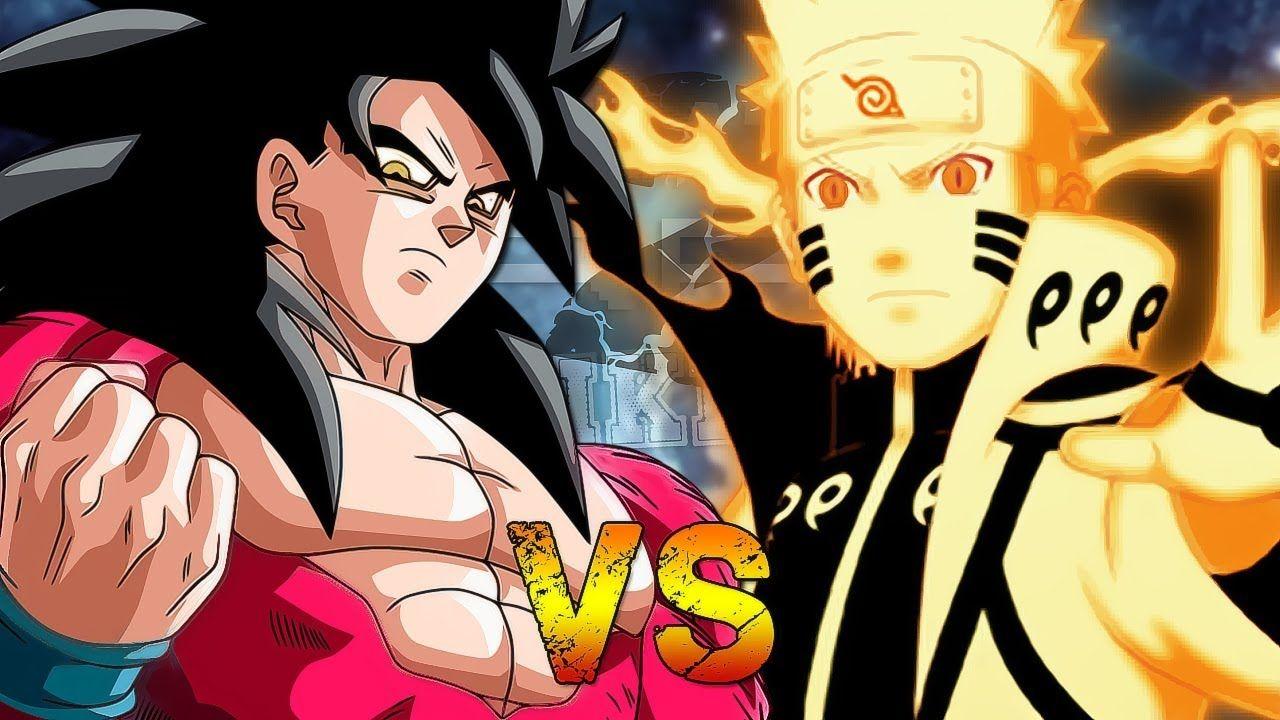 Goku Vs Naruto full fight.. (special episode) Rap