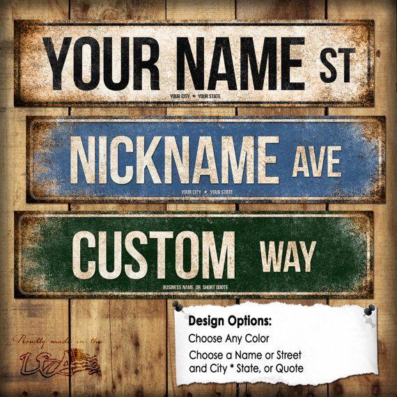 DL-my way highway TIN SIGN Metal Decor Wall Shop Bar living room wall sticker