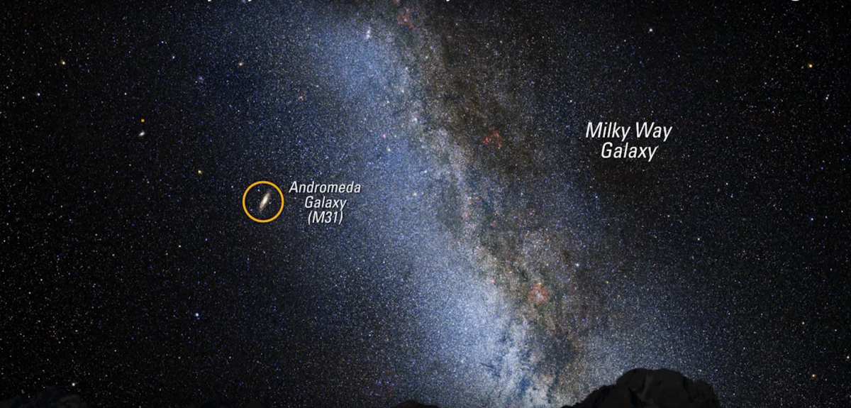 We Re On A Collision Course With The Andromeda Galaxy Here S