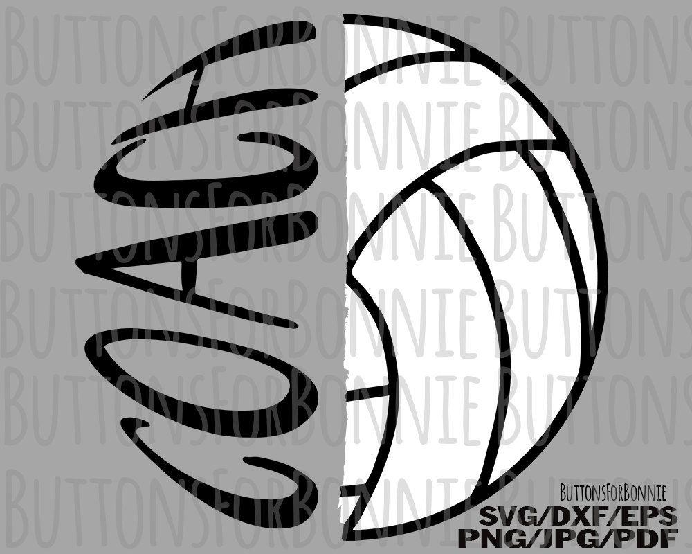 Volleyball Coach Volleyball Svg Volleyball Coach Gift Coach Etsy In 2020 Coaching Volleyball Volleyball Coach Gifts Coach Shirts