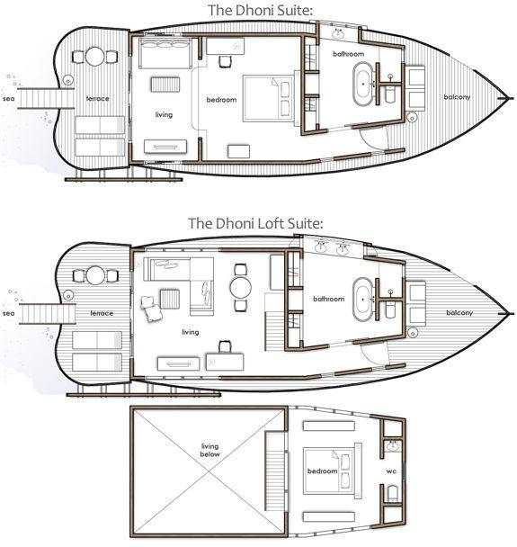 The Luxurious Boat Room Resort Floor Plans Hotel Floor Plan Sims House Plans Yacht house floor plan
