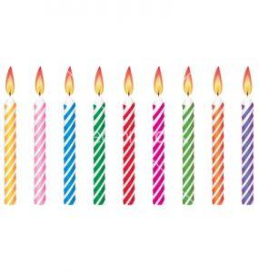 Birthday Candles Animated