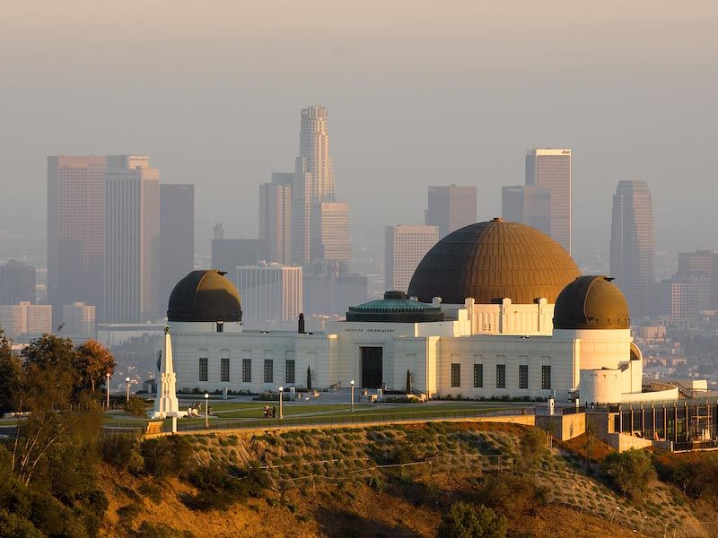 Griffith Observatory Los Angeles California C Image Provided By Robert Landau Corbis Oh The Wonders That They Mus Places Griffith Observatory Los Angeles