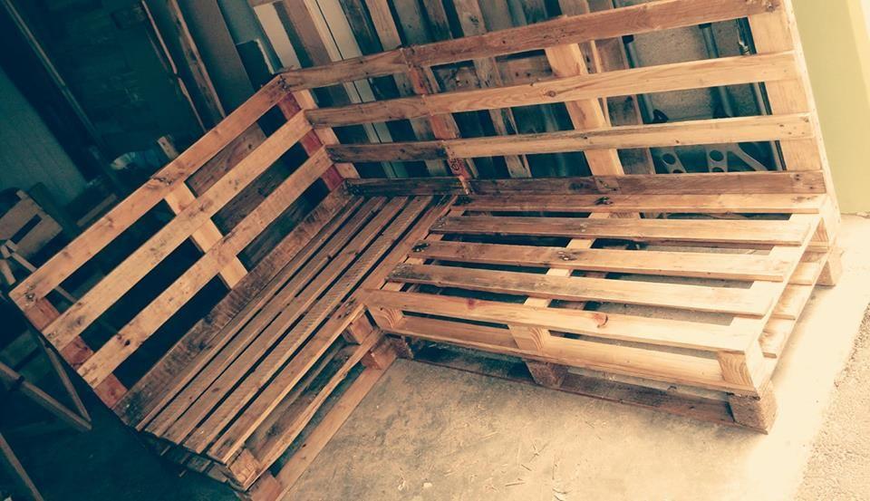 Canape D Angle Pour Terrasse En Palettes Canape Angle Terrasse Palette Canape Palette
