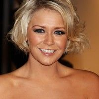Suzanne Shaw Chic Length Wavy Bob Haircut for Oval Faces