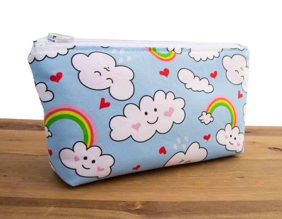 Makeup Bag Toiletry Bag Set Rainbow Makeup Bag Waterproof