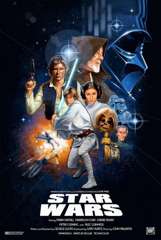 Star Wars Episode Iv A New Hope Star Wars Episode Iv Eine Neue Hoffnung Krieg Der Sterne Star Wars Poster Star Wars Kunst Star Wars Episoden