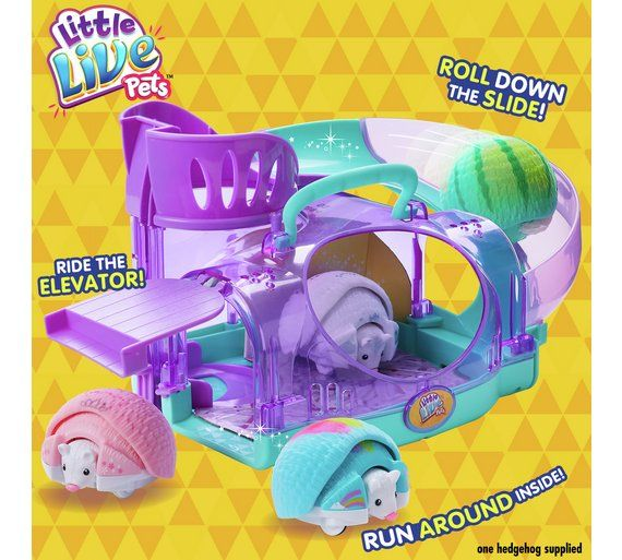 Buy Little Live Pets Hedgehog And House At Argos Co Uk Visit