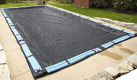 Ready Your Pool Covers Preparing For The Shutdown In Ground Pools Rectangle Pool Pool Cover