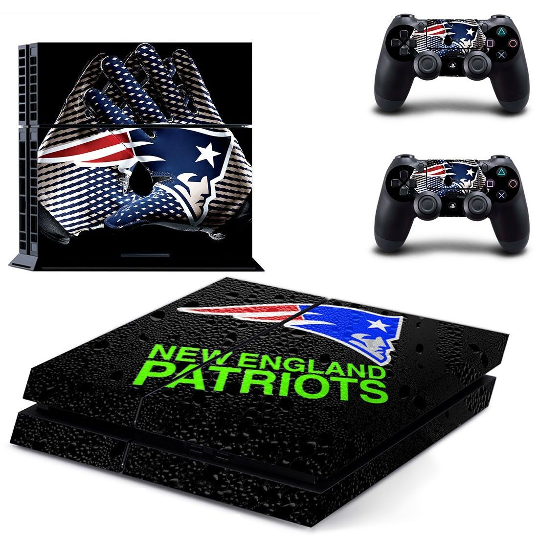 New England Patriots Ps4 Skin Decal For Console And Controllers Ps4 Skins Patriots Playstation 4 Console