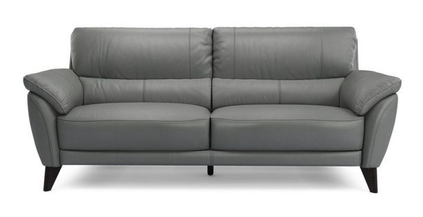 Graduate Leather And Look 3 Seater Sofa Premium Dfs