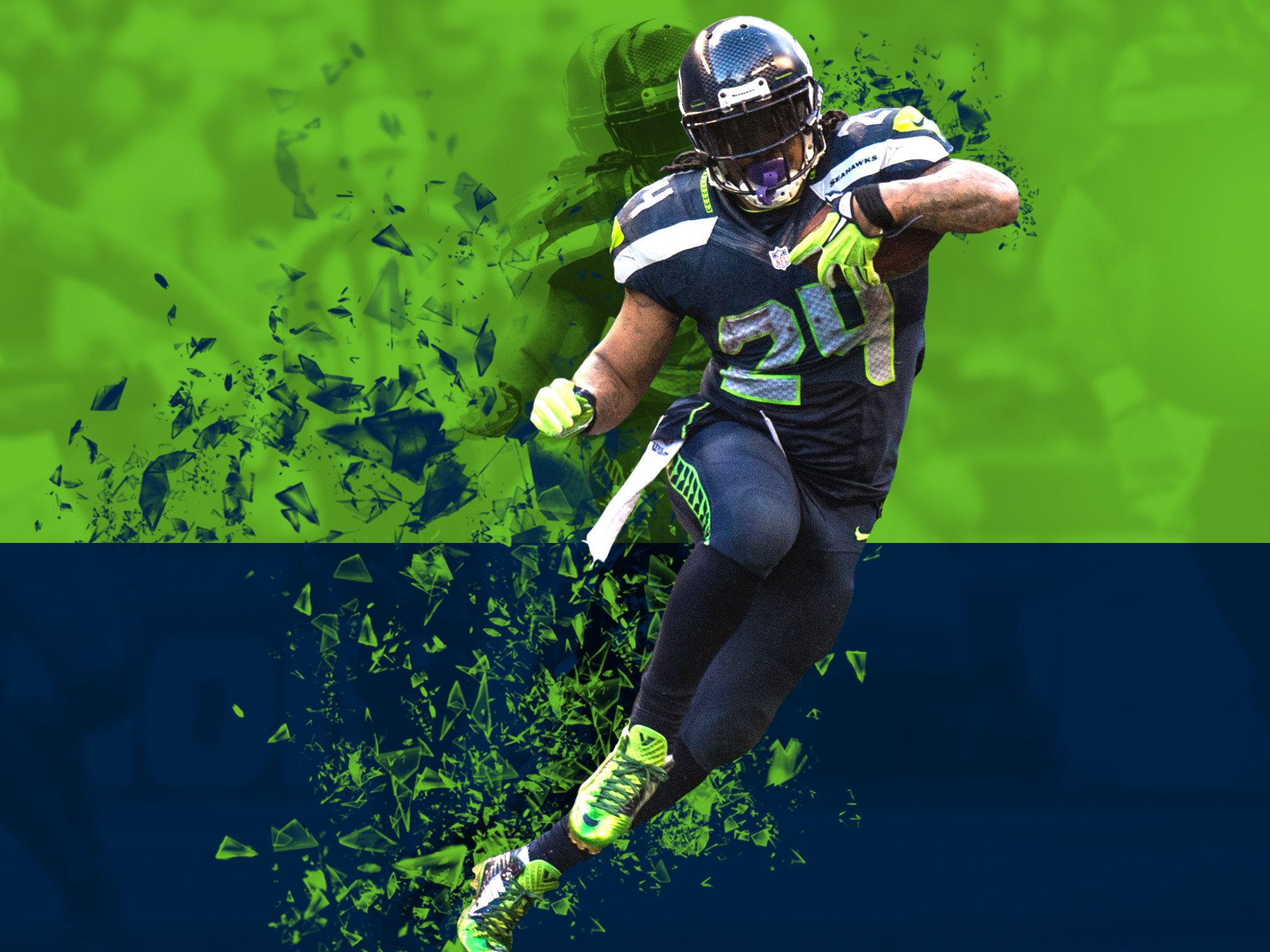 Free Download 12th Man Seattle Seahawks Wallpaper For Apple Ipad