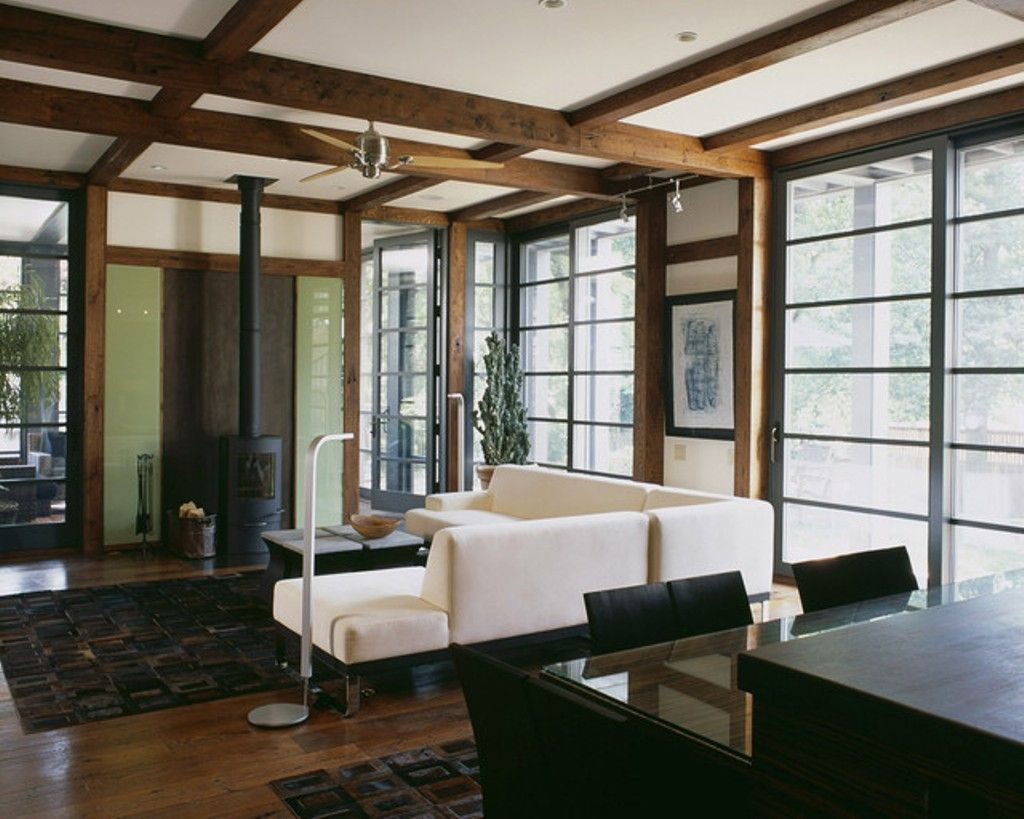 Simplify Your Space With Japanese Living Room Perfect Glass Doors For Modern Japanese Living Ro Japanese Living Rooms Craftsman Living Rooms Living Room Styles