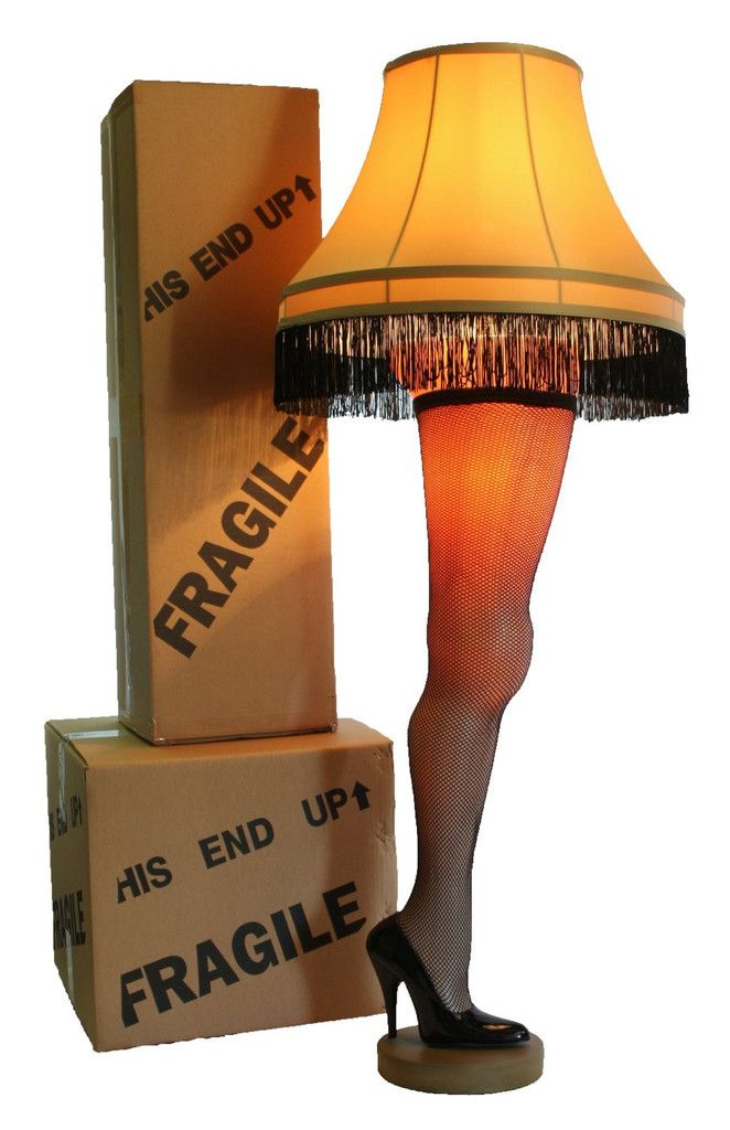A Christmas Story Full Size 50 Deluxe Leg Lamp Leg Lamp Christmas Story Leg Lamp A Christmas Story