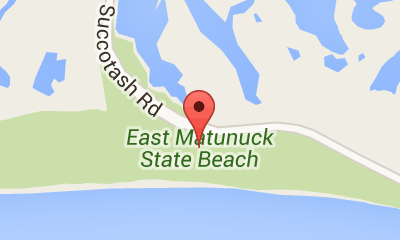 Map of East Matunuck State Beach