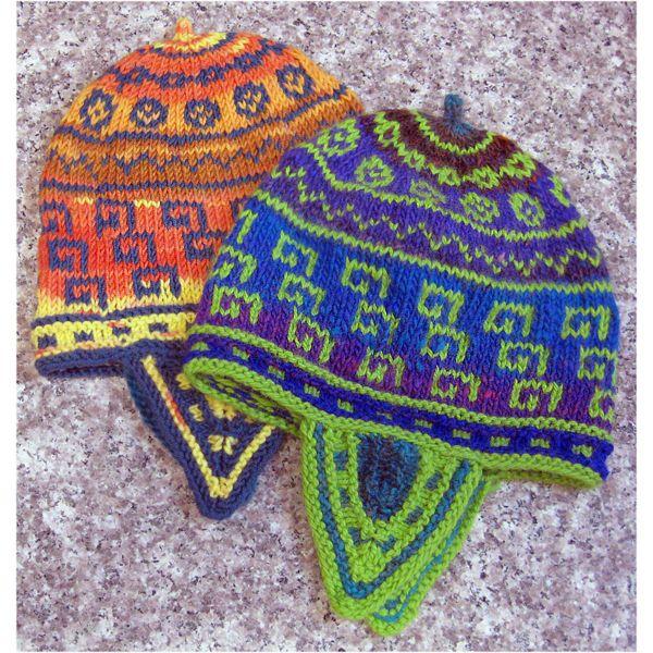 Keys & Coins Andean-Style Hat (Pattern)   Beginner ...