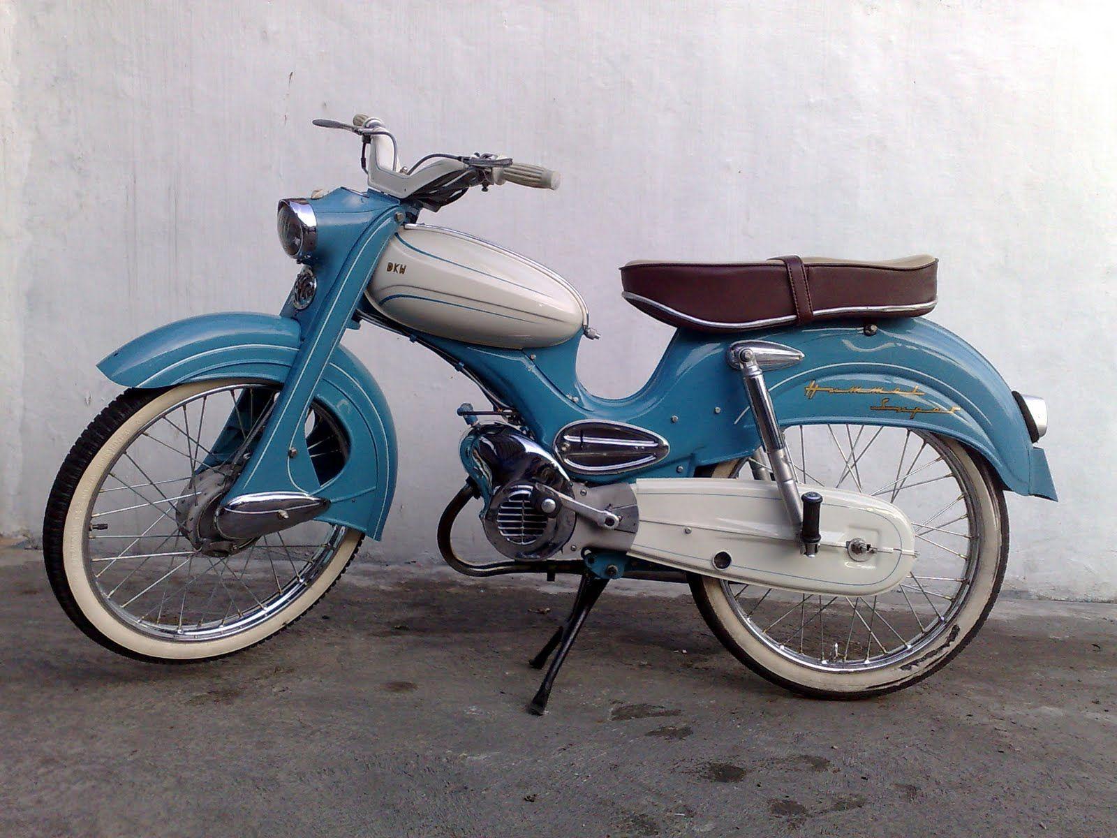 50cc dkw hummel 1962 antique bike gasm pinterest. Black Bedroom Furniture Sets. Home Design Ideas