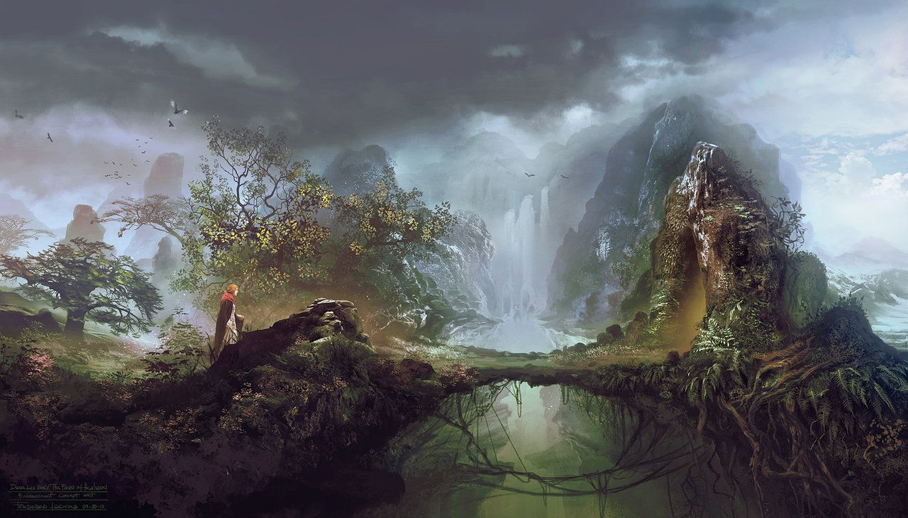 """One of my environment concept i did for the  """"The Foun of Healwood""""  short Film from France.  Director Stéphane Artus Screenwriter Denys Corel  Based on the story of Stéphane Artus http://www.thefaunofhealwood.com/"""