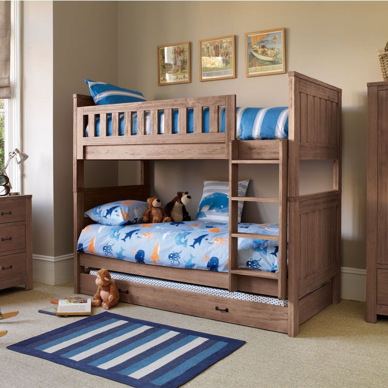 terrific boys bedroom | Bunk Beds become an army base, a battleship and a ...