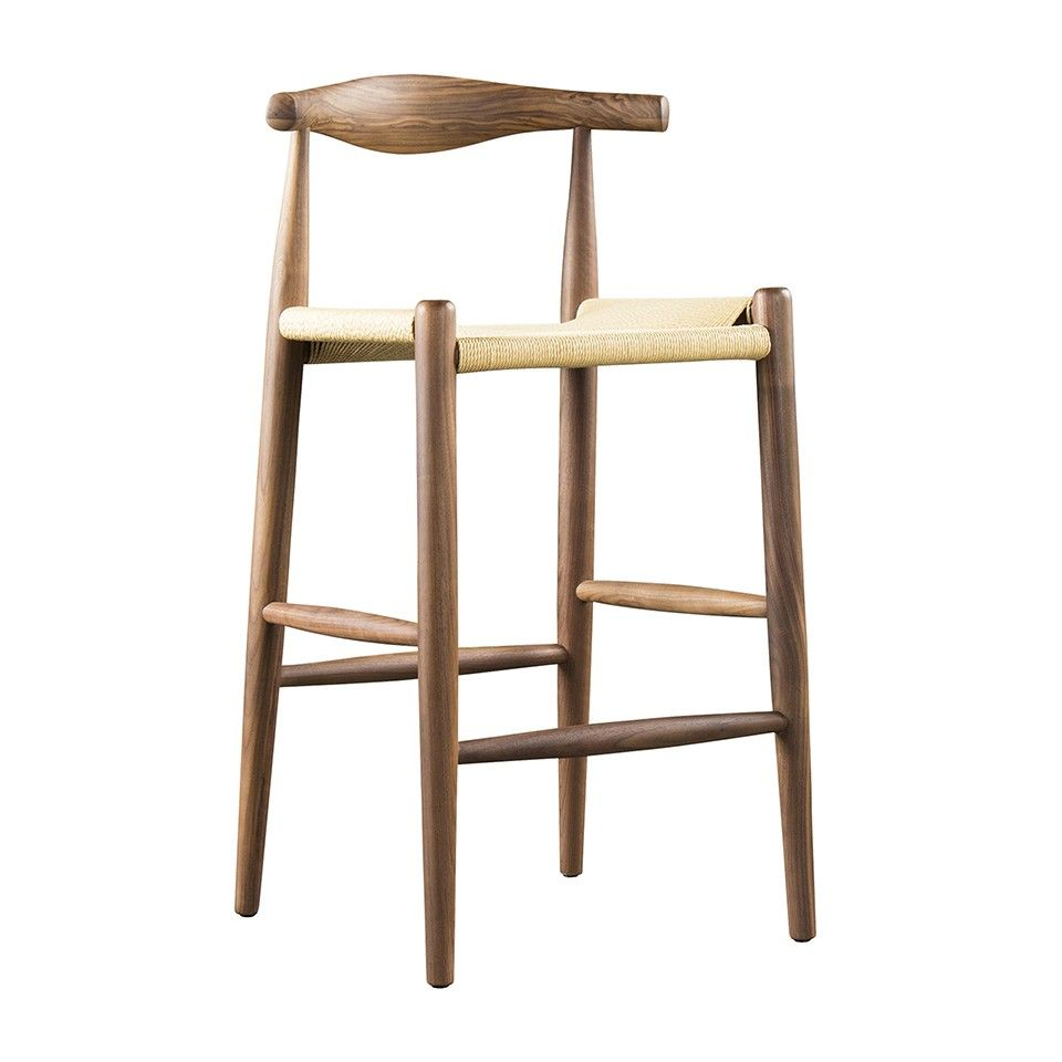 BAR STOOL WITH PAPER CORD SEAT - Bar \u0026 Counter Stools - Dining ...