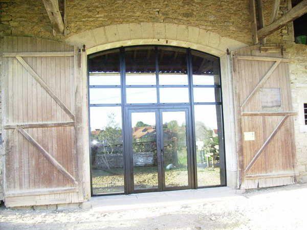 grande largeur porte de grange pinterest portes de grange porte de et grange. Black Bedroom Furniture Sets. Home Design Ideas