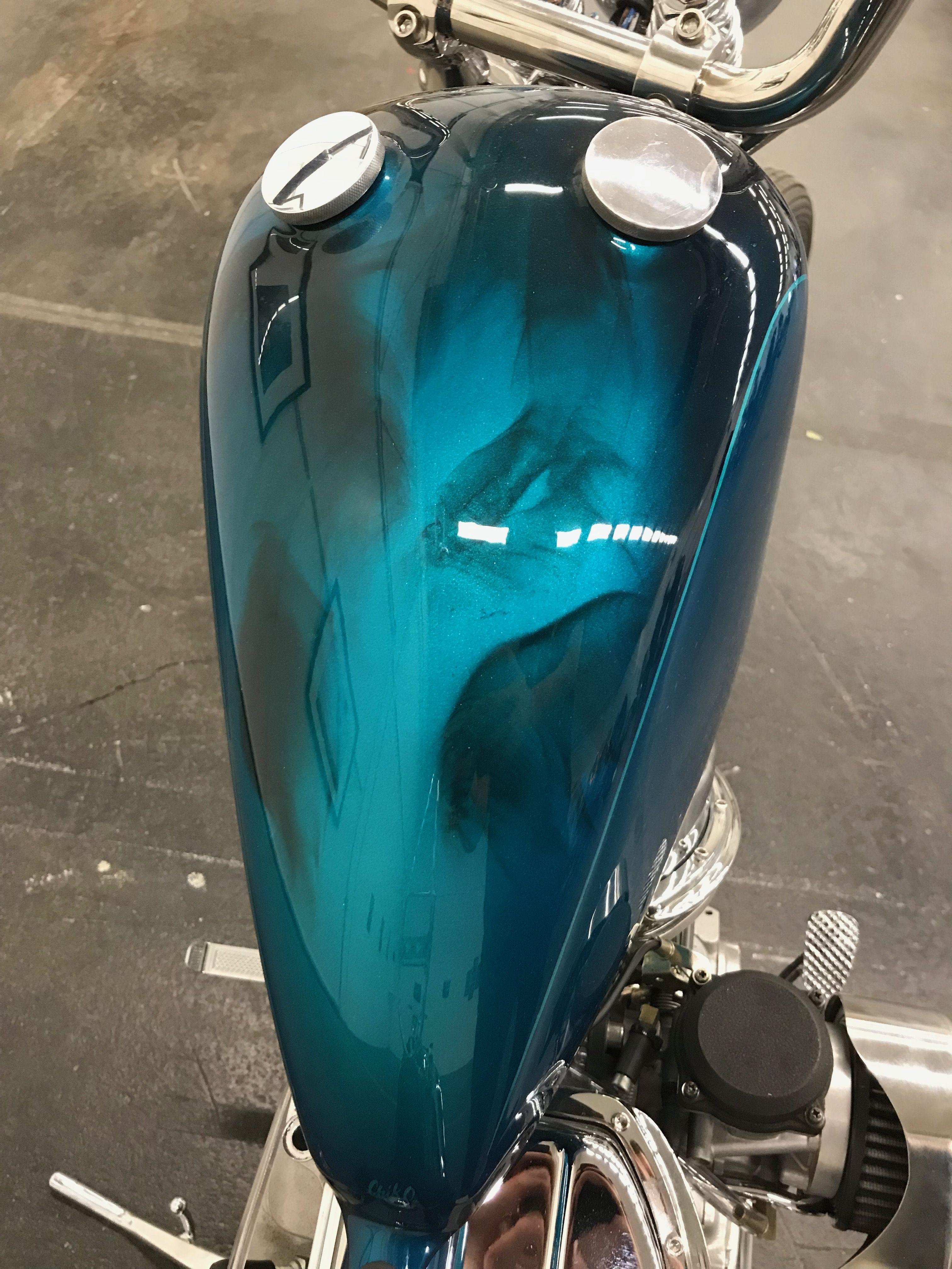 Insane Paint Job Harley Panhead