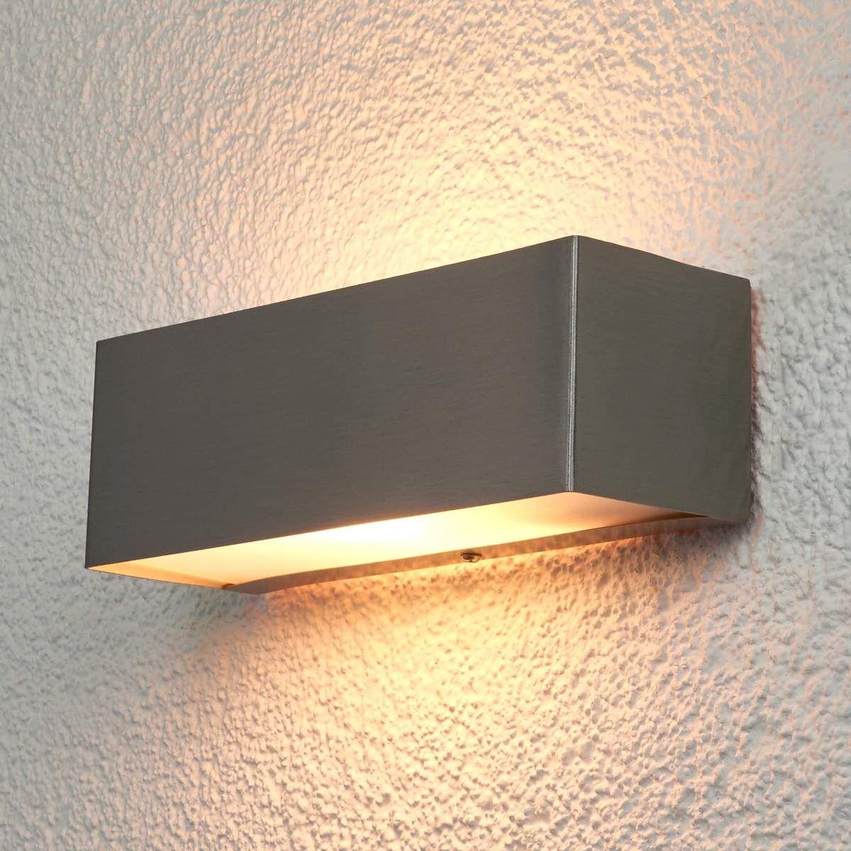 Applique Extérieure Eclairage Haut Et Bas applique extérieure en inox moderne, alicja | lampe