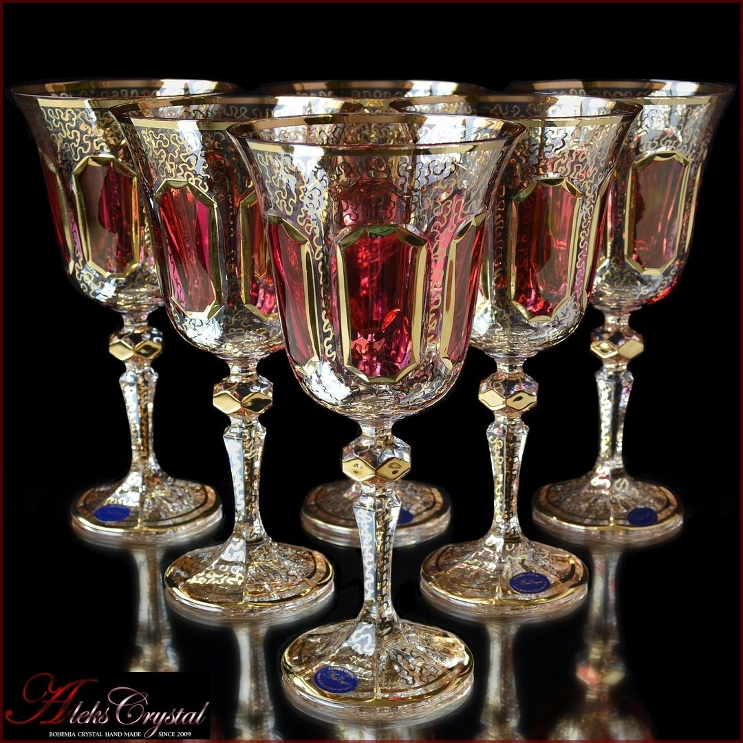Wine glasses Versale Rubin
