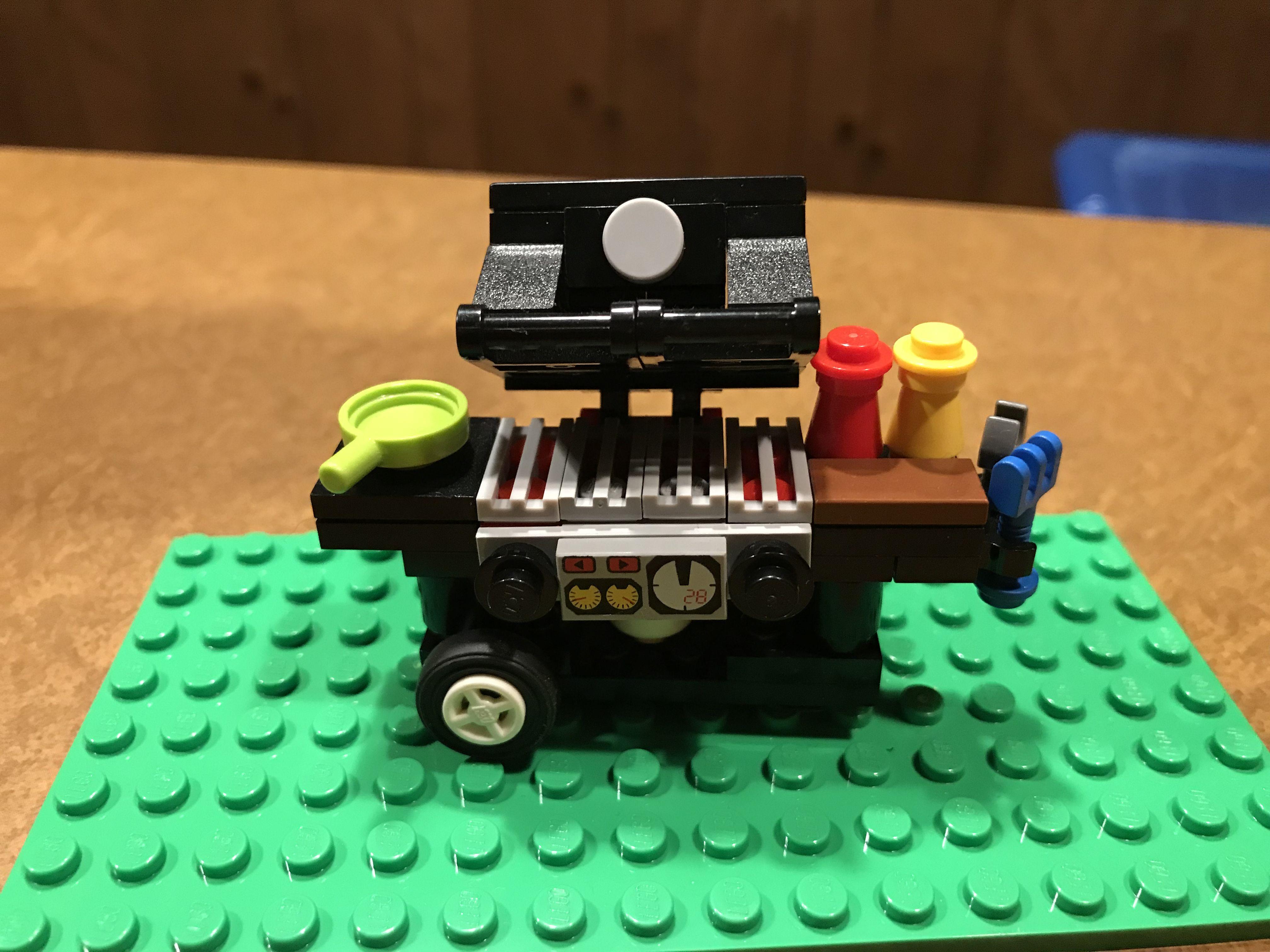 Lego Grill Custom Lego Creations Pinterest Lego Legos And