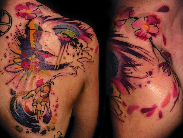 Best Ink S02E04 Recap: Abstract Tattoo done for a DJ during the Tattoo ...